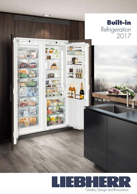 2017 Built In Refrigeration cover   Liebherr Ireland