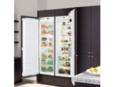 Combination Integrated Fridge Freezers